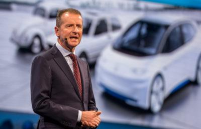 Herbert Diess prenderà il posto di Matthias Müller come CEO di Volkswagen