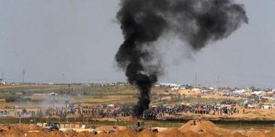 Un'altra giornata di proteste a Gaza