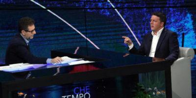 Il video dell'intervista di Matteo Renzi a Che tempo che fa