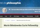 Le Marie Curie dell'Unione Europea