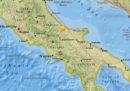 C'è stato un terremoto in Molise di magnitudo 4.2