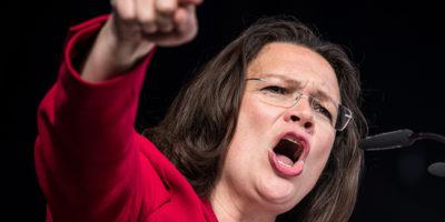 Germania, Nahles eletta presidente dell'Spd col 66%