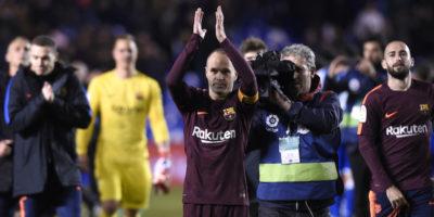Il Barcellona ha vinto il campionato di calcio spagnolo