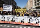 Le foto della grande manifestazione indipendentista a Barcellona