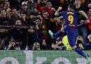 Il Barcellona ha battuto la Roma 4-1 nei quarti di finale di Champions League