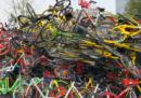 C'è un problema col bike sharing, in Cina