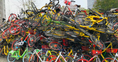C'è un problema col bike sharing, in Cina