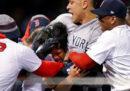 La rissa tra Yankees e Red Sox, nemici