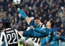 Il gol in rovesciata di Cristiano Ronaldo alla Juventus