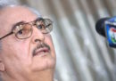 Il governo francese ha confermato che il comandante libico Khalifa Haftar è ricoverato in Francia