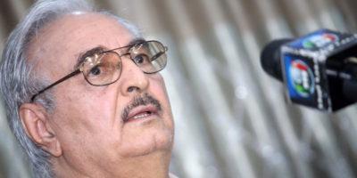 Libia, generale Haftar sarebbe affetto da un cancro