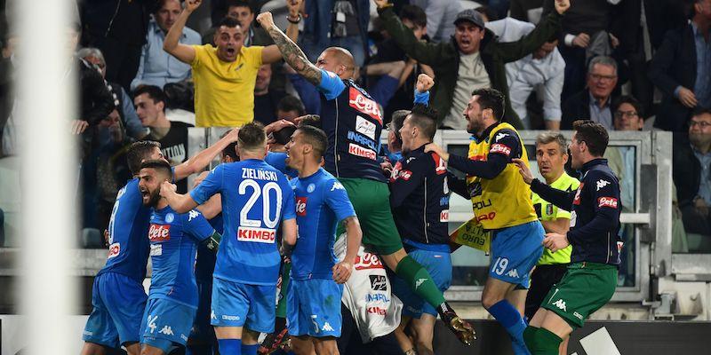 Juventus battuta dal Napoli e debole in borsa