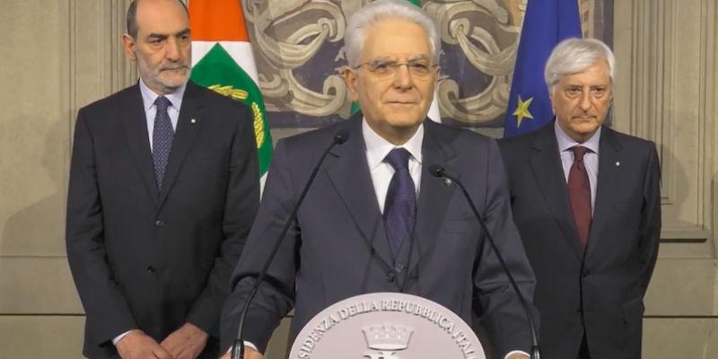 Consultazioni, terminato secondo giro colloqui di Mattarella
