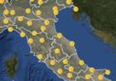 Le previsioni meteo per domani, venerdì 20 aprile