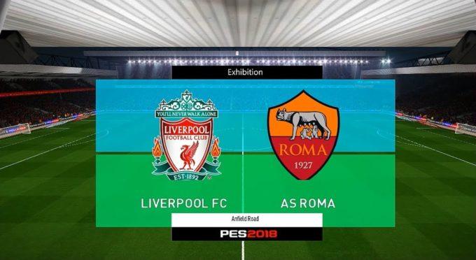 Abbiamo giocato in anticipo Liverpool-Roma su PES2018