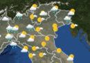 Le previsioni meteo per venerdì 13 aprile
