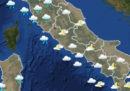 Le previsioni meteo per il primo maggio