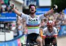 """Peter Sagan ha vinto la 116ª edizione della Parigi-Roubaix, una delle """"classiche monumento"""" del ciclismo su strada"""