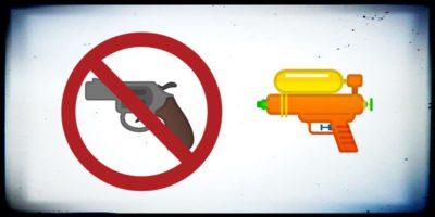 Nessuno vuole l'emoji di una vera pistola