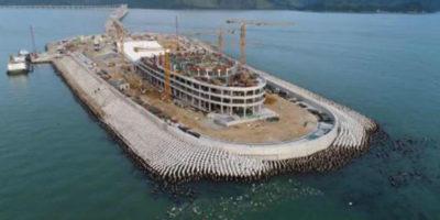 Forse c'è un problema col ponte marino più lungo del mondo