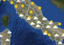 Il meteo in Italia per domani, venerdì 27 aprile