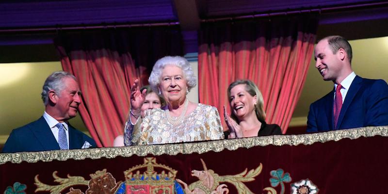 Le foto del concerto per il compleanno della regina Elisabetta II