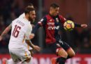 Roma-Genoa in streaming e in diretta TV