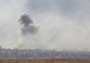 Una base aerea siriana è stata bombardata