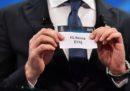 Quando sono i sorteggi delle semifinali di Champions League?