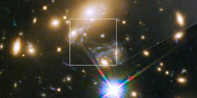 Questa è la stella più distante mai vista