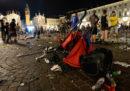 Gli arresti per i disordini di piazza San Carlo, a Torino