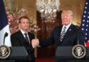 Quanto sono diventati amici Trump e Macron?
