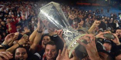 Nel giro di poche ore il trofeo dell'Europa League è stato rubato e poi ritrovato, in Messico