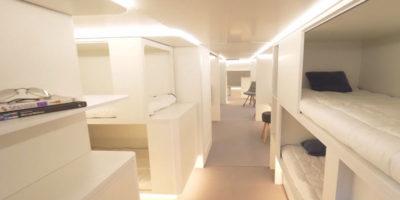Airbus vuole mettere letti nelle stive degli aerei