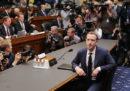 A Zuckerberg è andata meno bene, alla Camera