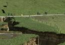 In Nuova Zelanda si è aperta una crepa bella grossa