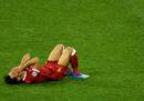 Il video dell'infortunio di Salah nella finale di Champions League
