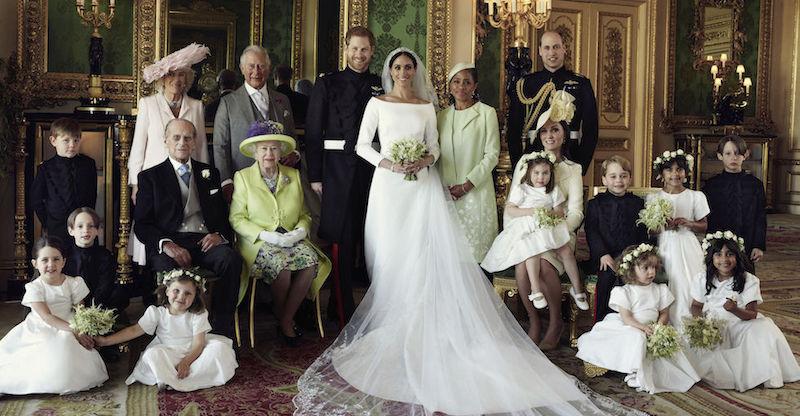 acquista per il meglio acquista per genuino trova fattura 3 foto dall'album di nozze di Meghan Markle - Il Post