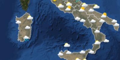 Le previsioni meteo per venerdì 18 maggio