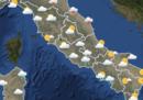 Le previsioni meteo per venerdì 4 maggio