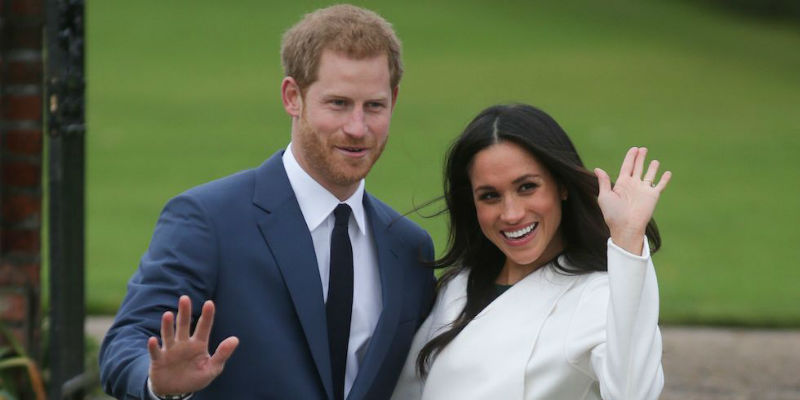 Matrimonio In Diretta Meghan E Harry : Dove vedere il quot royal wedding in diretta tv o streaming