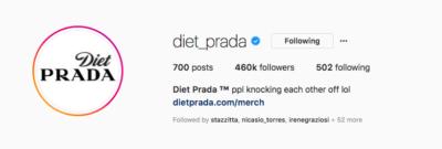 L'account Instagram di moda più temuto