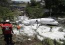 Le foto dell'aereo privato che si è aperto in due a Tegucigalpa, in Honduras