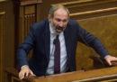 Il Parlamento armeno si è opposto all'elezione a primo ministro di Nikol Pashinyan