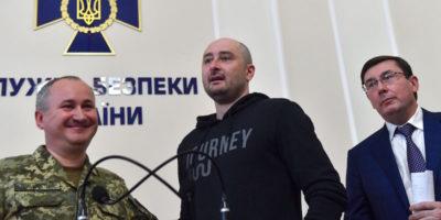 Il giornalista russo che ieri era stato dato per morto in realtà è vivo 😮