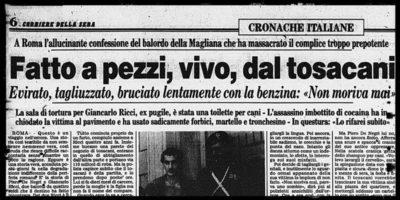 """La storia del delitto del """"canaro della Magliana"""""""