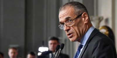 Carlo Cottarelli sarà capo del governo