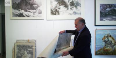 L'imprenditore toscano che compra opere d'arte dalla Corea del Nord