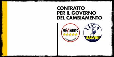"""La versione finale del """"contratto"""" M5S-Lega"""
