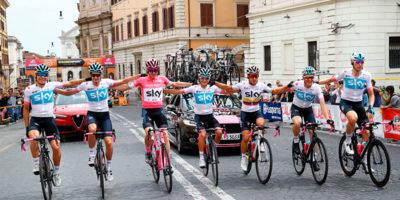 Chris Froome ha vinto il Giro d'Italia